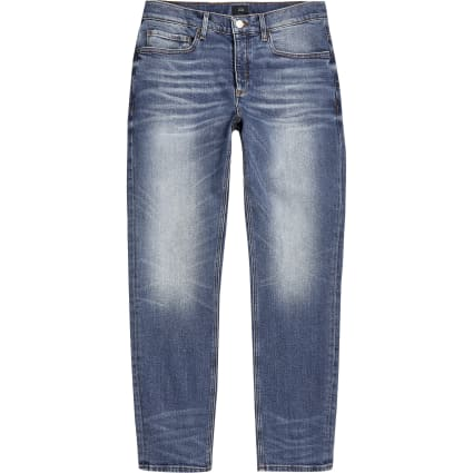 Big and Tall blue slim fit Dylan jeans