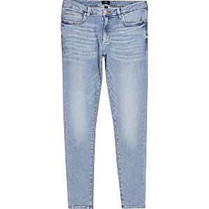 Ollie – Hellblaue Spray-on-Jeans