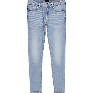 Ollie – Jean ultra-skinny bleu clair
