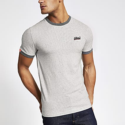 Superdry grey Orange Label T-shirt