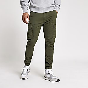 Superdry – Utility-Hose in Khaki