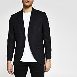 Selected Homme - Donkergrijze blazer