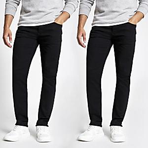 Zwarte slim-fitDylan jeans set van 2