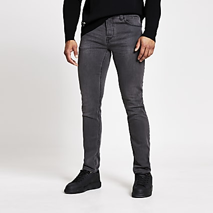 Only and Sons grey slim fit jeans