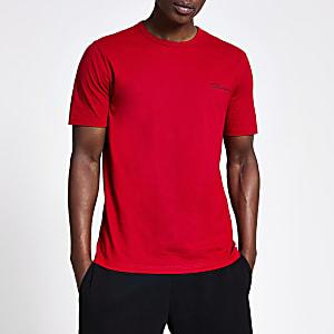 Prolific red slim fit T-shirt