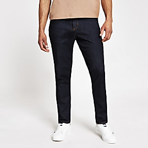 "Dunkelblaue Stretch-Jeans ""Dylan"" im SlimFit"