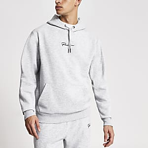Prolific – Grauer Regular Fit Hoodie