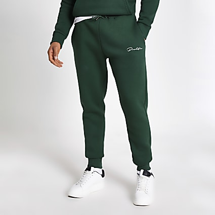 Dark green Prolific slim fit joggers