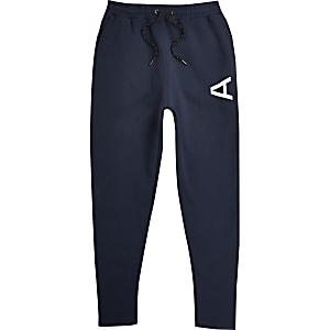Arcminute– Marineblaue Jogginghose im Slim Fit
