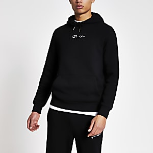 Prolific – Sweat à capuche slim noir