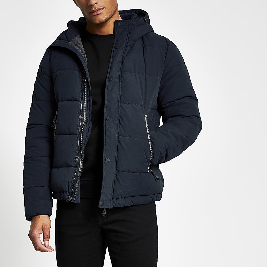Superdry navy padded jacket