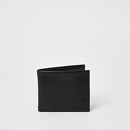 Black RI embossed fold out wallet