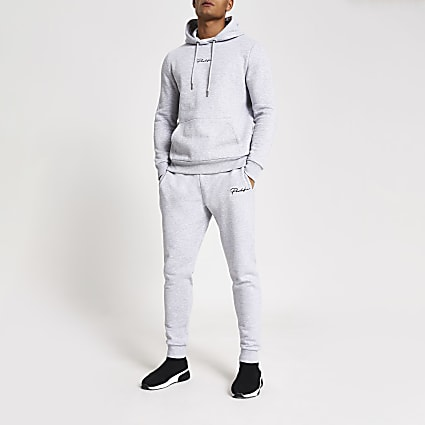Prolific grey slim fit joggers