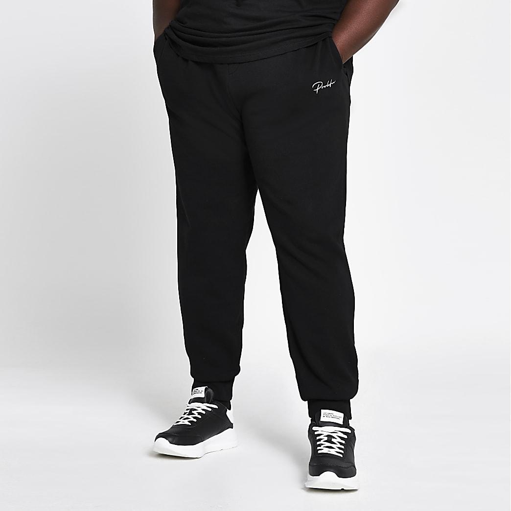 Big and Tall Prolific black slim fit joggers