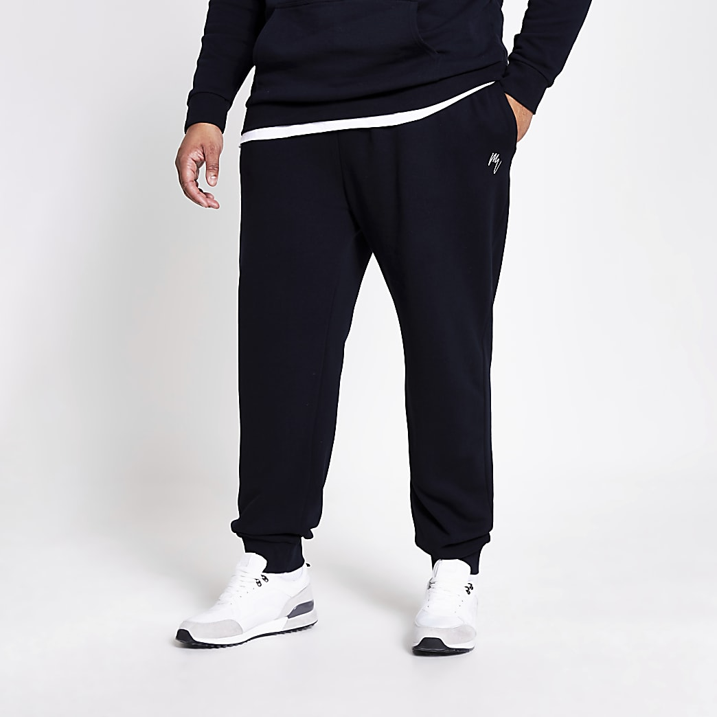 Big and Tall – Maison Riviera – Pantalon de jogging bleu marine