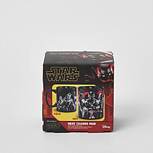 Tasse Star Warsrouge avec impriméqui réagità la chaleur