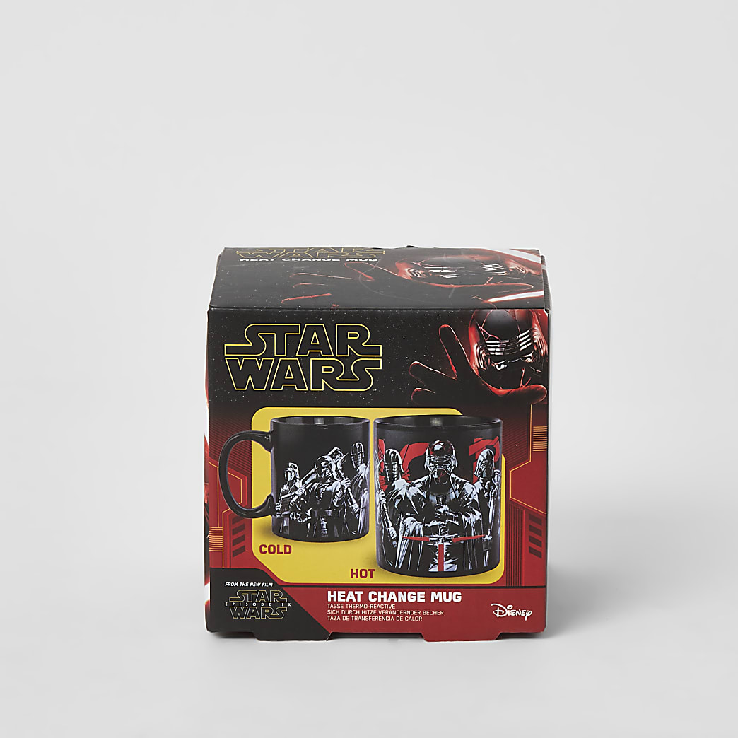 Star Wars red printed heat change mug