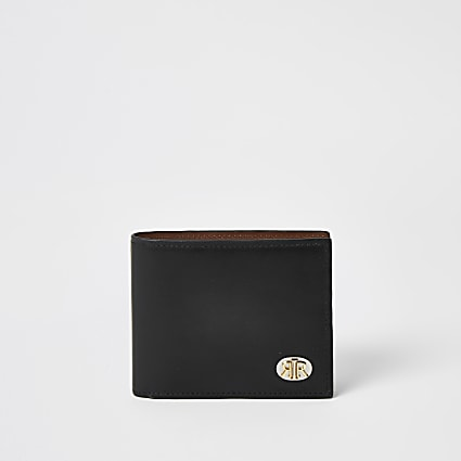 Black leather RIR wallet