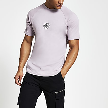 Concept stone compass slim fit T-shirt