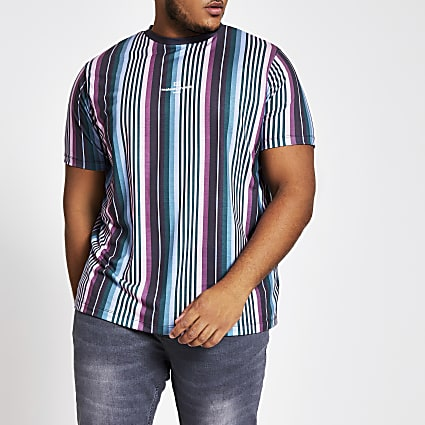 Big and Tall Maison Riviera slim fit T-shirt
