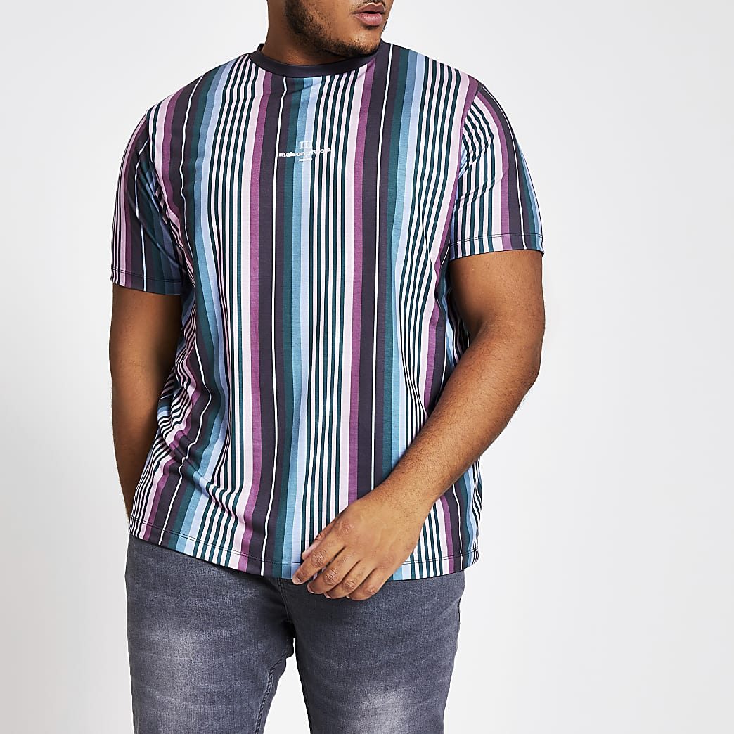 Big and Tall - T-shirt slim Maison Riviera