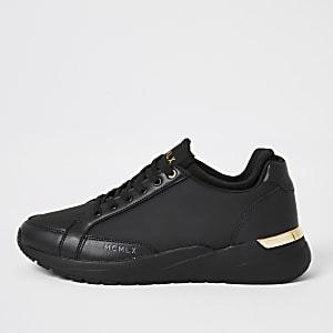 MCMLX Zwarte enkelsokken hardloop sneakers
