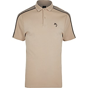 Big and Tall - Maison Riviera slim-fit poloshirt