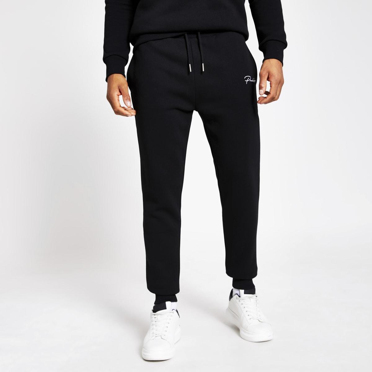 Prolific – Pantalons de jogging slim noir