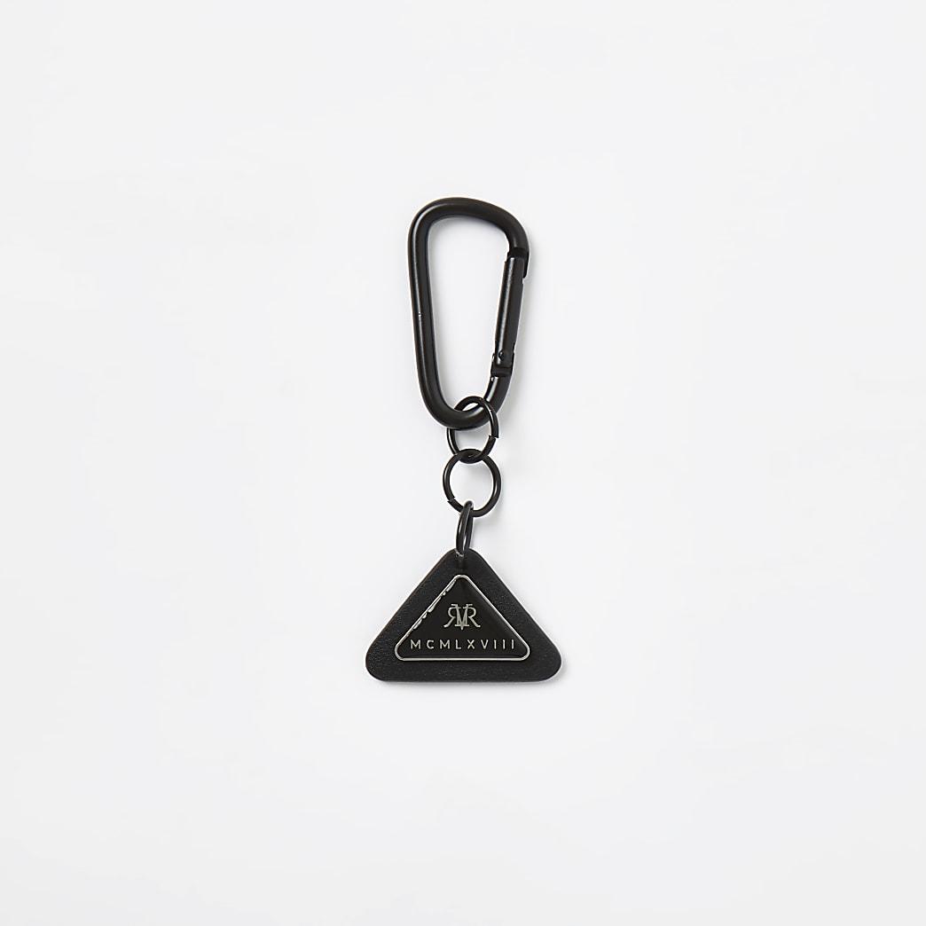 MCMLX black triangle badge keyring