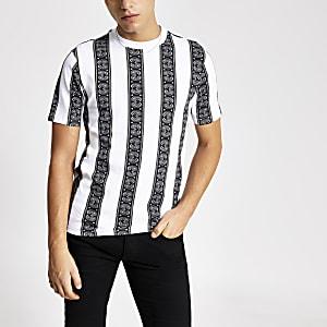 Smart Western – T-shirt classiqueà rayures