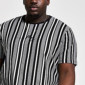 Big and Tall -  Wit Maison RivieraT-shirt