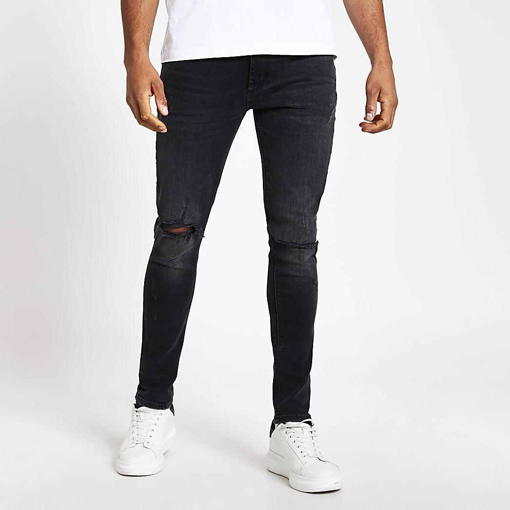 Sid – Jean skinny noir déchiré