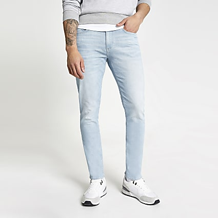 Light blue slim fit Dylan jeans