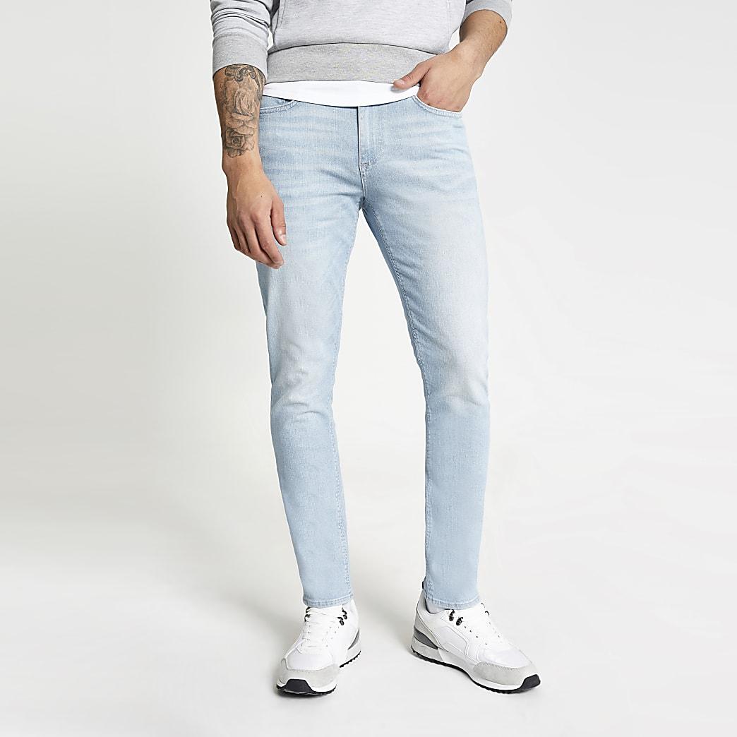 Lichtblauwe slim fit Dylan jeans