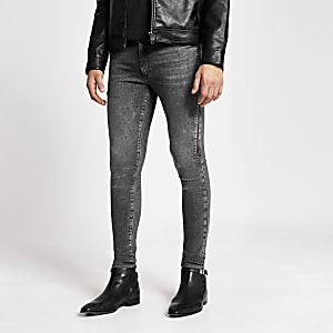 Smart Western - Ollie - Grijze spray-on jeans