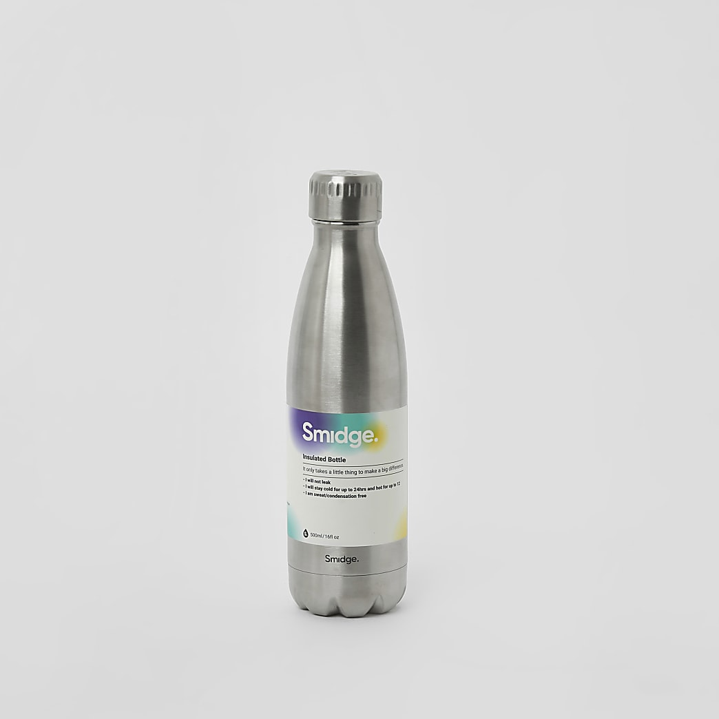 Smidge silver 16oz bottle
