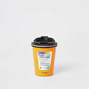 Smidge - Tasse isotherme orange fluo à emporter8 oz