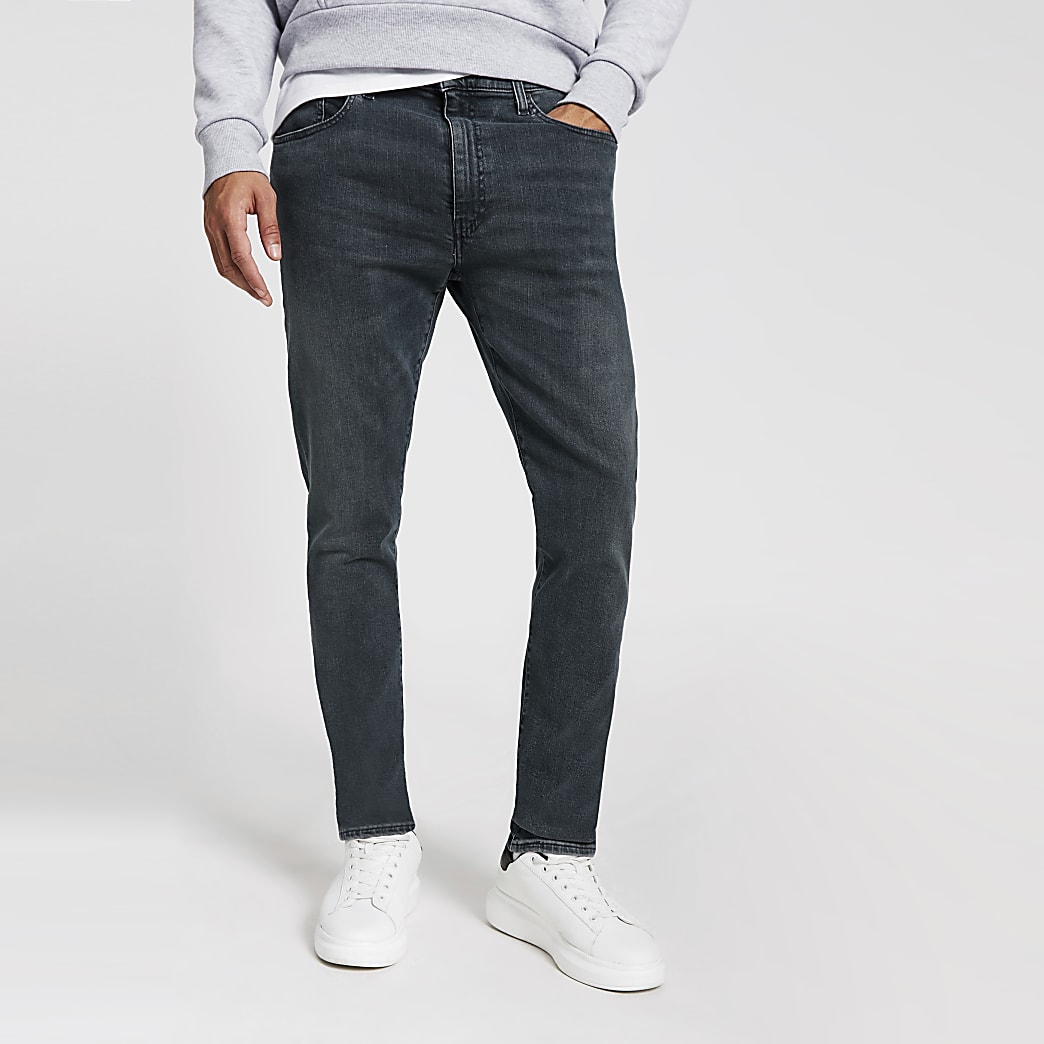 Levi's light blue 512 slim fit denim jeans