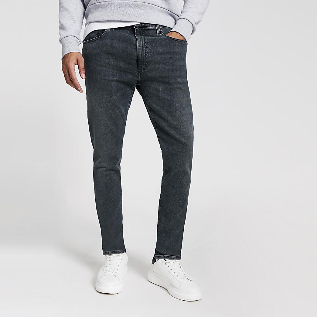 Levi's - Jeans slim 512 en denim bleu clair