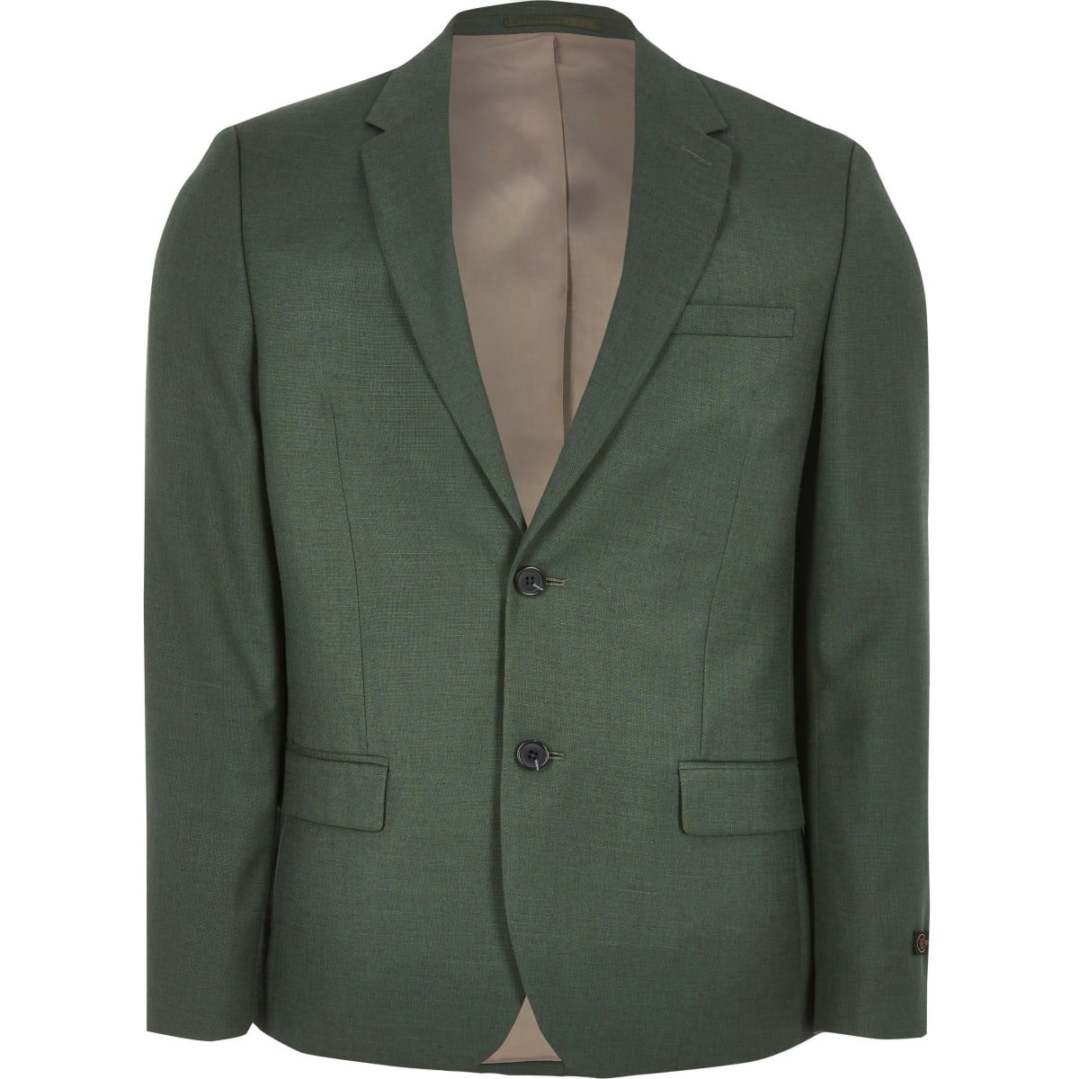 Big and Tall green suit jacket