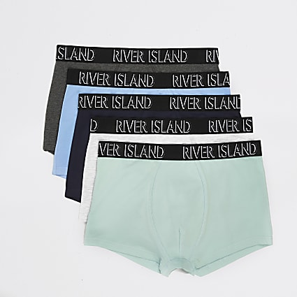 Green pastel RI hipsters 5 pack