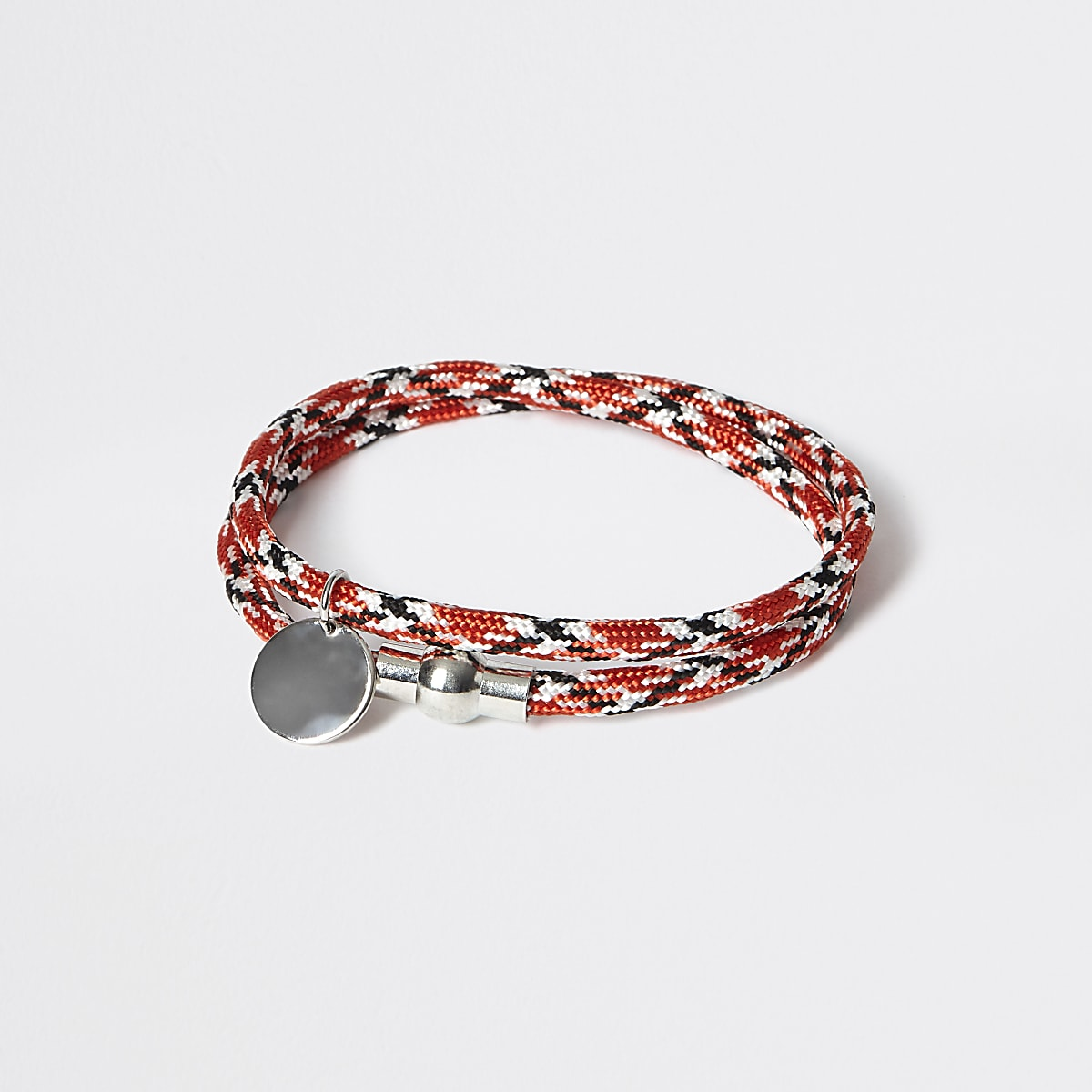 Red rope wrap bracelet