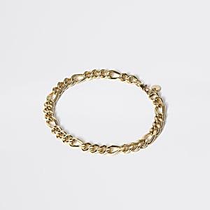 Goudkleurige armband met schakels