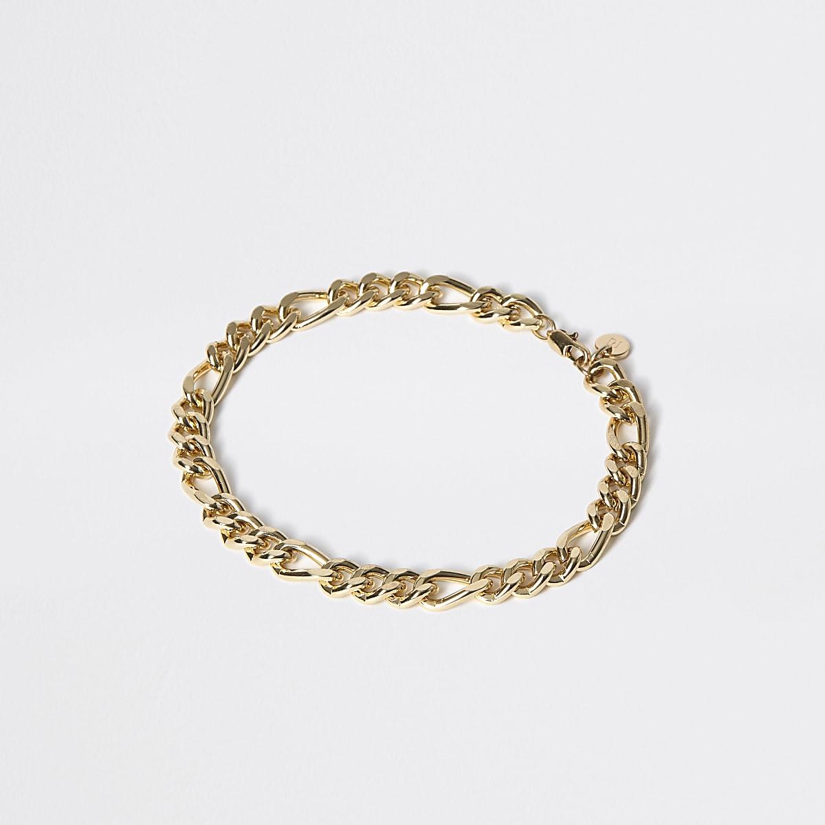 Bracelet à maillons doré