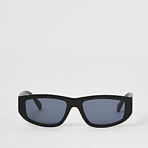 Getönte Sonnenbrille in Schwarz