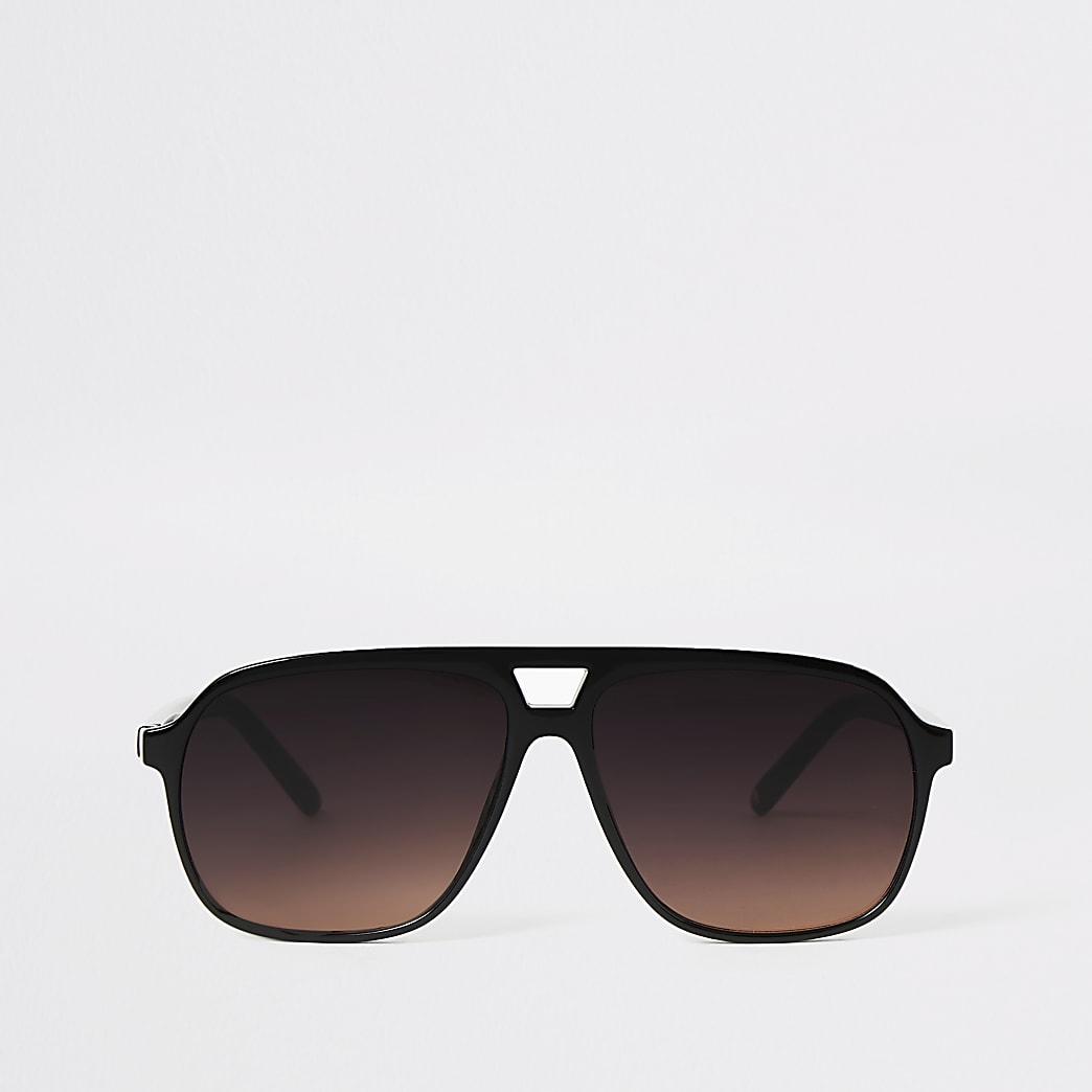 Lunettes de soleil aviateur noires
