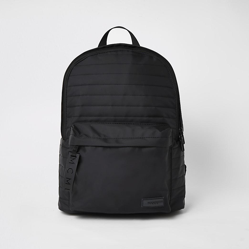MCMLX black padded backpack