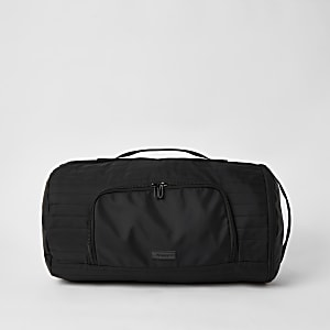 MCLMX – Cabas sac-à-dos noir matelassé