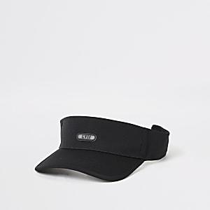 Black LVII visor hat