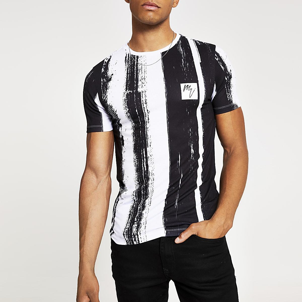 White print Maison Riviera muscle fit T-shirt